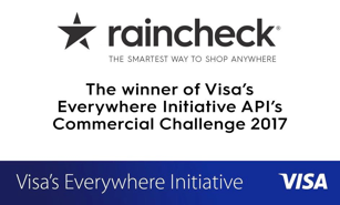 RainCheck Visa Winner